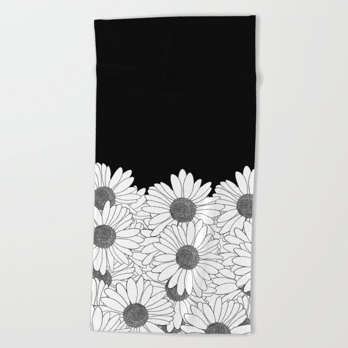 Daisy Boarder Beach Towel