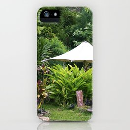 Fruit Stand in Tropical French Polynesia iPhone Case