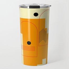 Contemporary Composition 02 Travel Mug