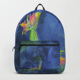 Koi fishes. Japanese fishes Backpack