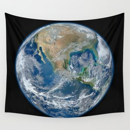 Our Beautiful Blue Marble Earth Wall Tapestry