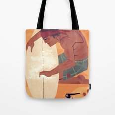 Wax it up Tote Bag