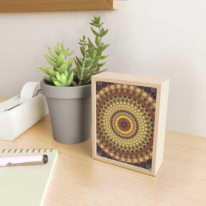 Mandala 380 Framed Mini Art Print