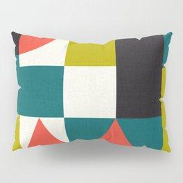 Mid-century block pattern Pillow Sham