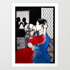 INTIMACY Art Print