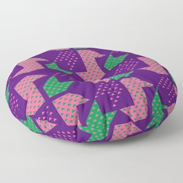 Clover&Nessie_Lavender&Mauve Floor Pillow
