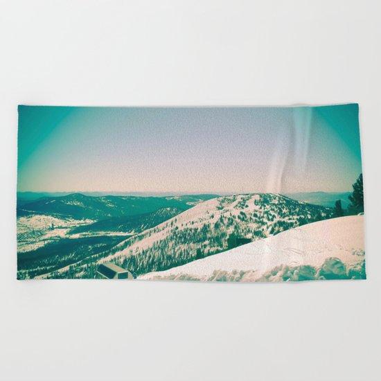 Winter 5 Beach Towel