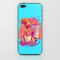 GROOVIN' THROUGH THE GALAXY iPhone & iPod Skin