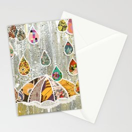 Dance In the Rain Stationery Cards