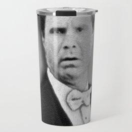 Will Ferrell Funny Old School Tee Shirt Travel Mug