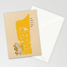 Tuba Bug Stationery Cards