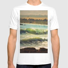 My Favorite Place MEDIUM White Mens Fitted Tee