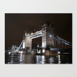 Tower Bridge by Night Canvas Print