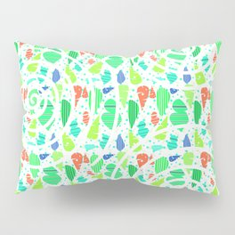 Abstract leafy pattern Pillow Sham