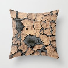 The Blue Core Throw Pillow