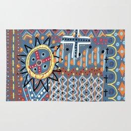 African Sun Design Rug