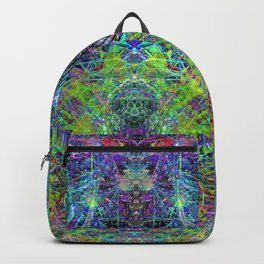 Con-Tici Cosmogenesis (abstract, psychedelic, visionary) Backpack