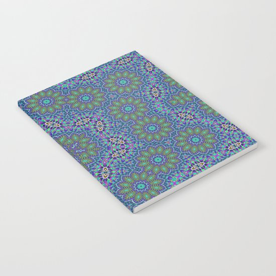 Lace kaleidoscope Notebook