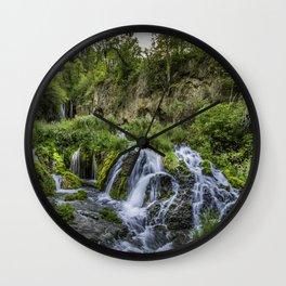 Roughlock Falls Wall Clock