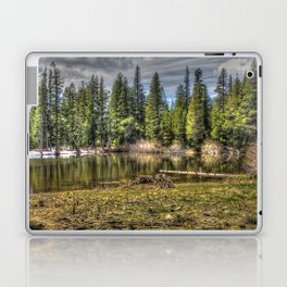 Reflecting Pond at Carson Spur, Amador County CA Laptop & iPad Skin