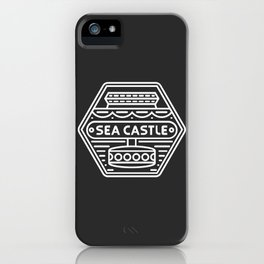 Sea Castle iPhone Case
