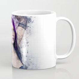 Gothic Steampunk Woman Coffee Mug