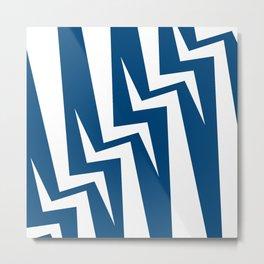 Stairway Series - Blue Metal Print