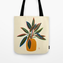 PLANT WITH COLOURFUL LEAVES  Tote Bag