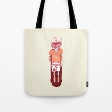 It's All Going Downhill From Here Tote Bag