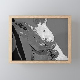 Bunny Noir Framed Mini Art Print