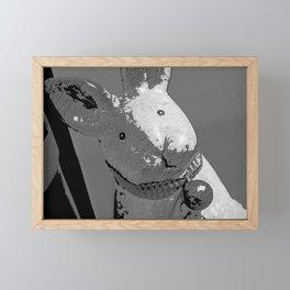 Bunny Noir Framed Mini Art Print