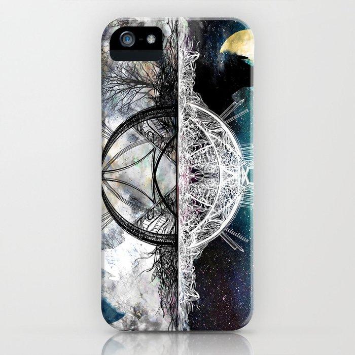 TwoWorldsofDesign iPhone Case