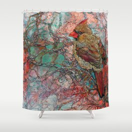 Thicket Starlet Shower Curtain