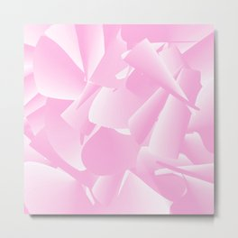 French California Pink Metal Print