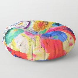 Wassily Kandinsky - Black Lines - Digital Remastered Edition Floor Pillow