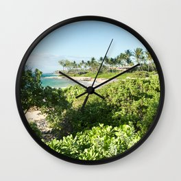 Mokapu Ulua Beach Wailea Maui Hawaii Wall Clock