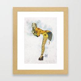 Food Mama Framed Art Print