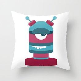 Bot Throw Pillow