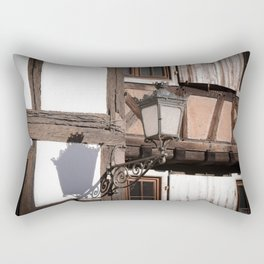 Light and Shadow Lamp Rectangular Pillow