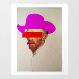 I wanna be a cowboy 2 Art Print