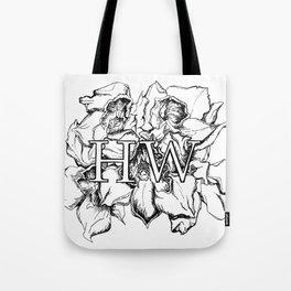 """""""HW"""" Drawing Tote Bag"""