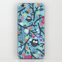 owls iPhone & iPod Skins featuring Owls. by panova
