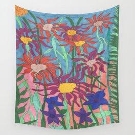 Lush Garden Wall Tapestry