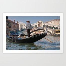 Grand Canal, Venice Art Print