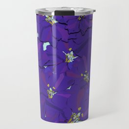 Larkspur Love Travel Mug