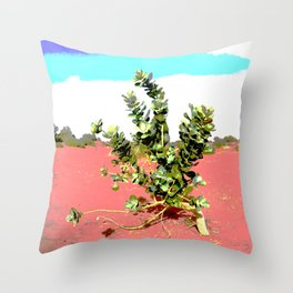Torha flower desert sahara Throw Pillow
