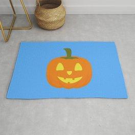 Classic light Halloween Pumpkin Rug