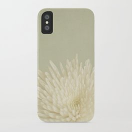 Pale Beauty iPhone Case