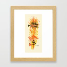 Broadwing Oversoul Framed Art Print
