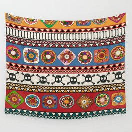 Aztec background Wall Tapestry